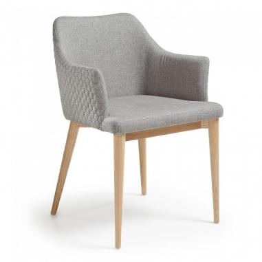DENI LIGHT GREY stolička