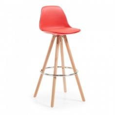 LARCHE stolička červená