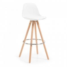 LARCHE stolička biela