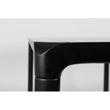ZUIVER STORM BLACK stôl