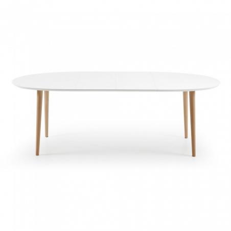OAKY 140 WHITE rozťahovací stôl