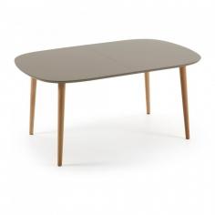OAKY 160 BROWN rozťahovací stôl