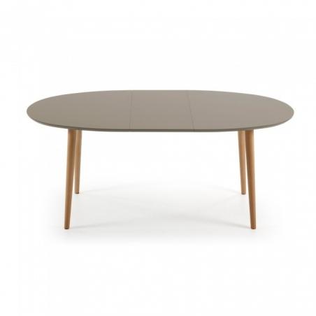 OAKY 140 BROWN rozťahovací stôl