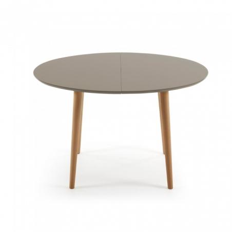 OAKY 120 BROWN rozťahovací stôl