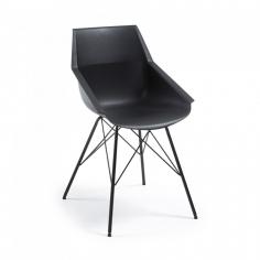 HRAN stolička čierna