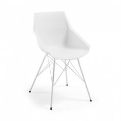 HRAN stolička biela