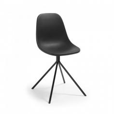 PYRRA stolička čierna