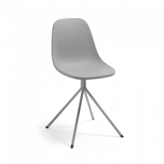 PYRRA stolička sivá