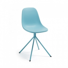 PYRRA stolička modrá
