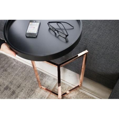 SVEA BLACK COPPER 40 stolík