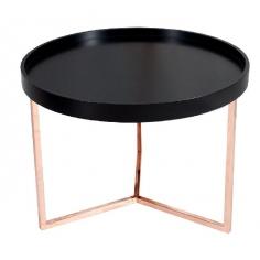 SVEA BLACK COPPER 60 stolík