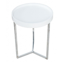 SVEA WHITE CHROM 40 stolík