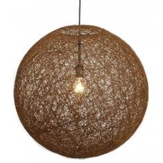 ABAKA hnedá lampa