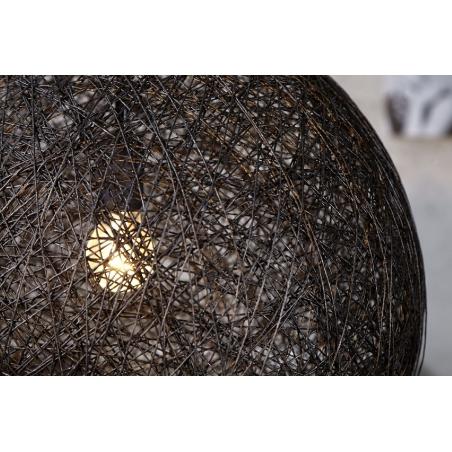 ABAKA čierna lampa