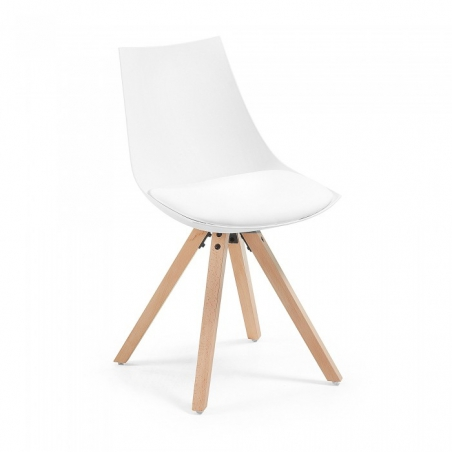 KVADRO stolička biela