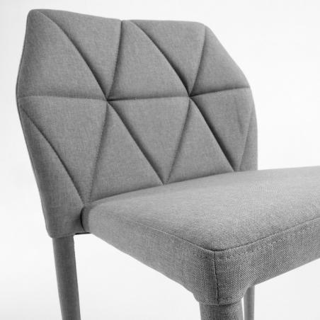 TRINITY stolička svetlosivá
