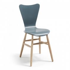 LILAK stolička sivá