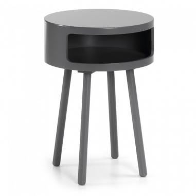UFF stolík čierna