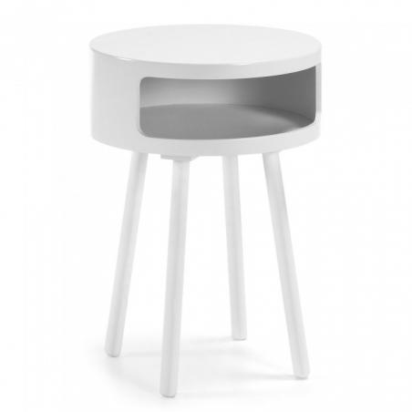 UFF stolík biela