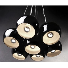 JEWEL BLACK lampa
