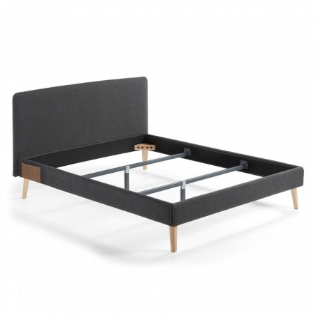 BELLA 150 posteľ tmavosivá