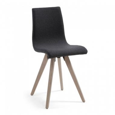 BEN čalúnená stolička čierna