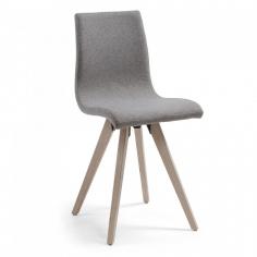 BEN čalúnená stolička sivá