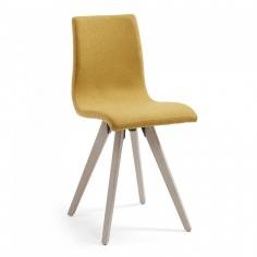 BEN čalúnená stolička horčicová