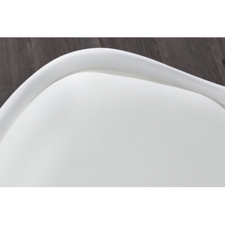 SCANDI CHROM jedálenská stolička biela