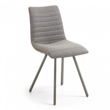 TRAP stolička čalúnená hnedá
