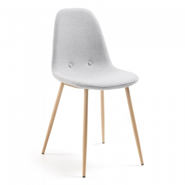 DONA stolička svetlosivá