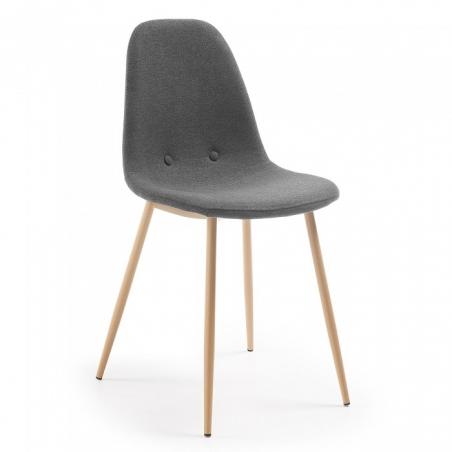 DONA stolička tmavosivá