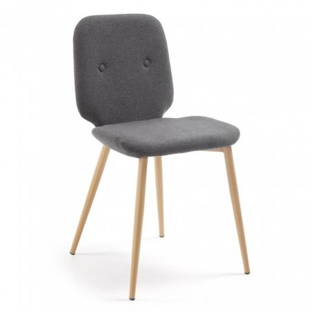 MICH stolička sivá