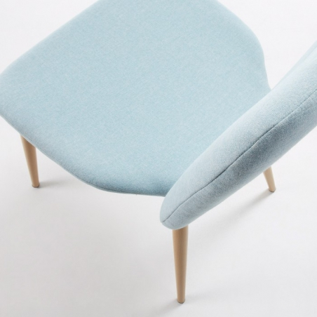 MICH stolička modrá