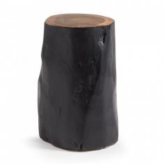 POLENO taburet čierny