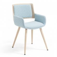 ANDREAS stolička svetlomodrá