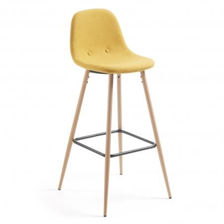 DONA barová stolička horčicová